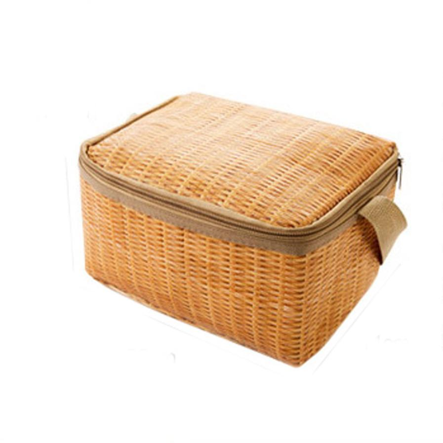 Xiniu Picknick Thermos bolsa de almuerzo térmica Para mujer lonchera de Picnic bolsa de almuerzo Mochila Termica Para Comida #240