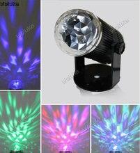 Led3W voz cristal abanicos para magia usted LED rayo láser rotación lámpara KTV bar efecto lámpara CD50 W03