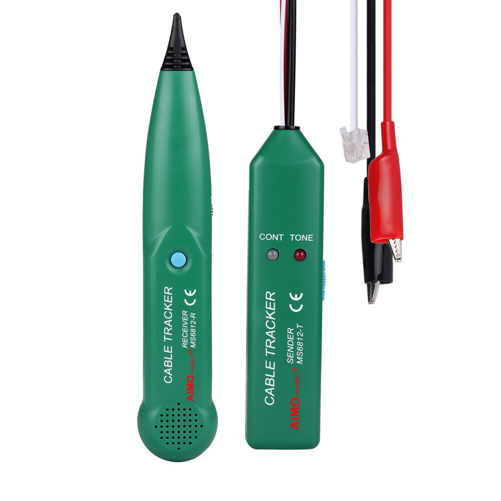 Оригинальный тестер для телефонного провода MASTECH MS6812, набор инструментов UTP RJ11 RJ45 LAN, сетевой кабель