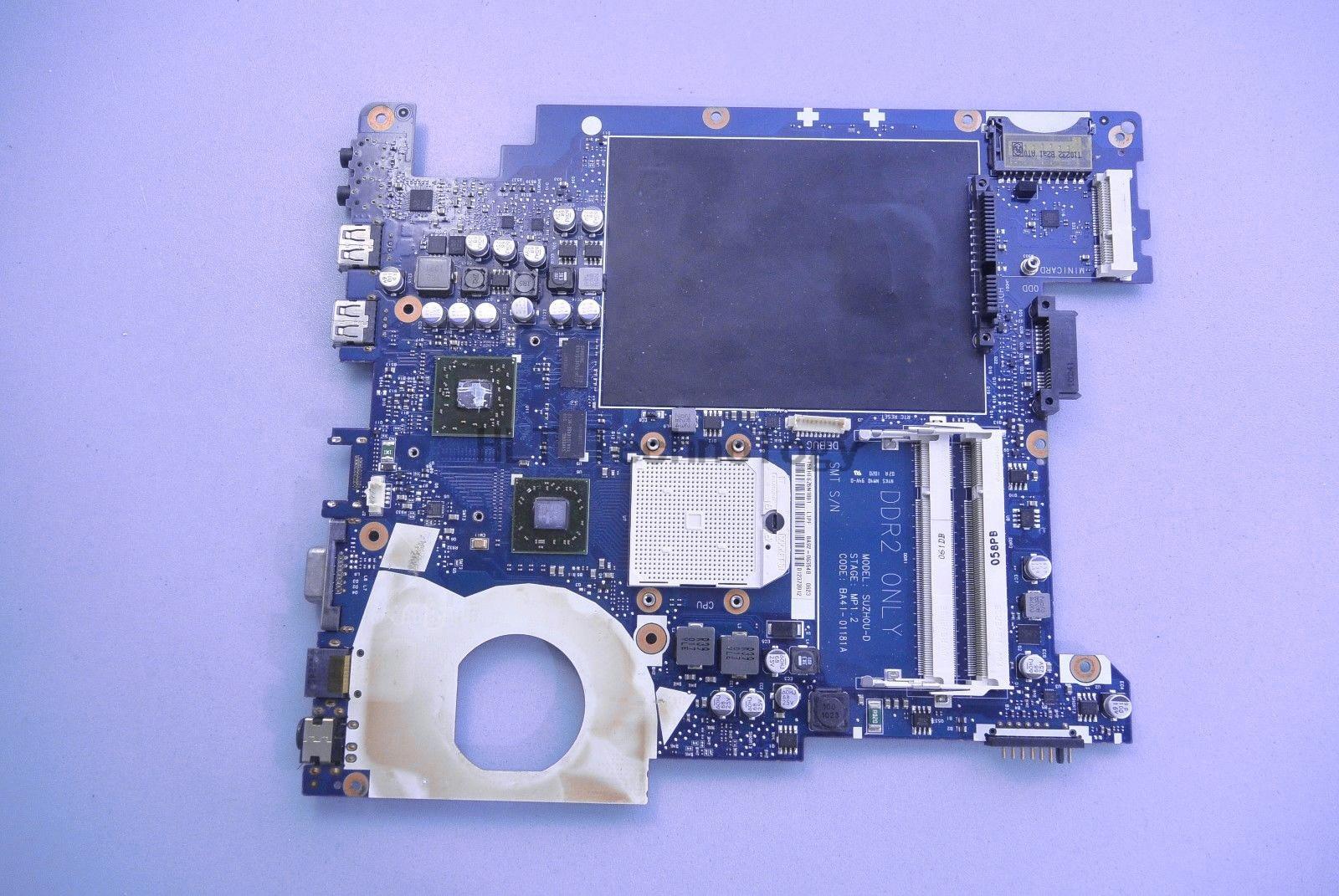 Laptop Motherboard Para SAMSUNG NP-R425 HOLYTIME R425 BA41-01181A BA92-06034A BA92-06034B DDR2 HD5145 512MB 100% testado inteiramente
