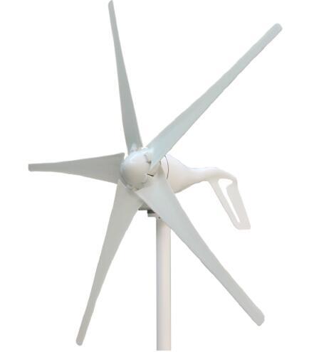 Molino eólico de fácil instalación 400W 12V 24 Vcc, turbina eólica de eje Horizontal, energía limpia y renovable