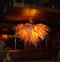 luxury crystal chandelier high quality murano glass chandelier lighting indian style for hotel