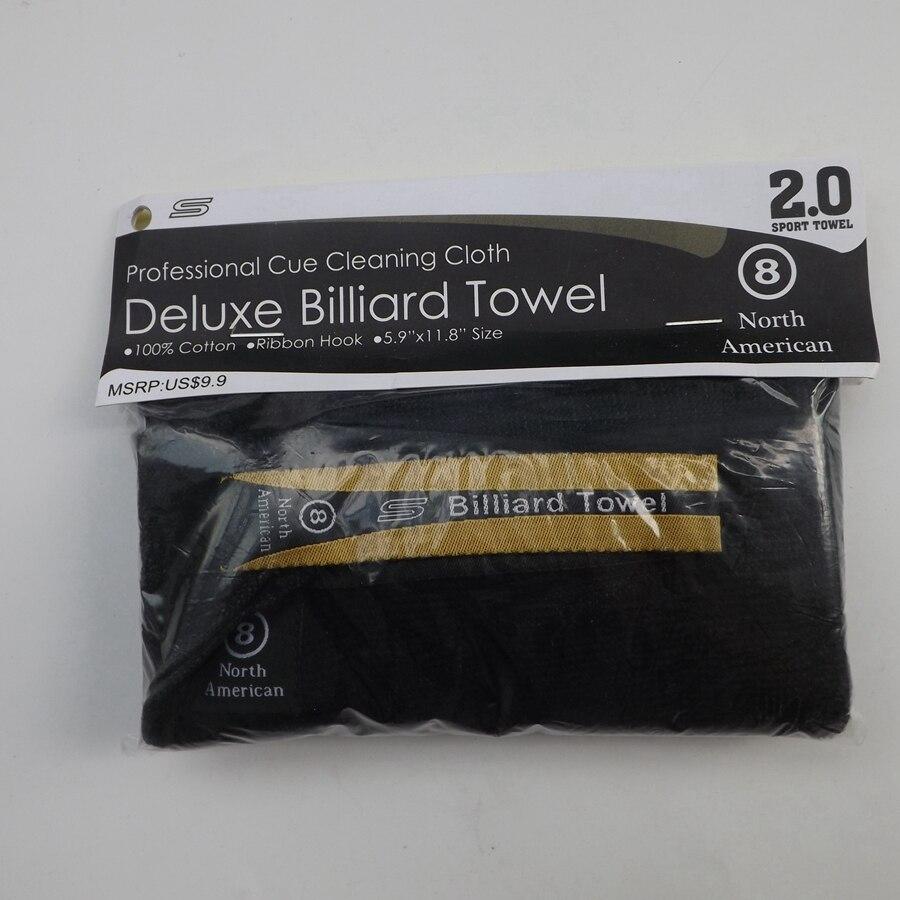 Deluxe, toalla de billar, accesorios de billar, herramientas de limpieza, billar americano y billar inglés