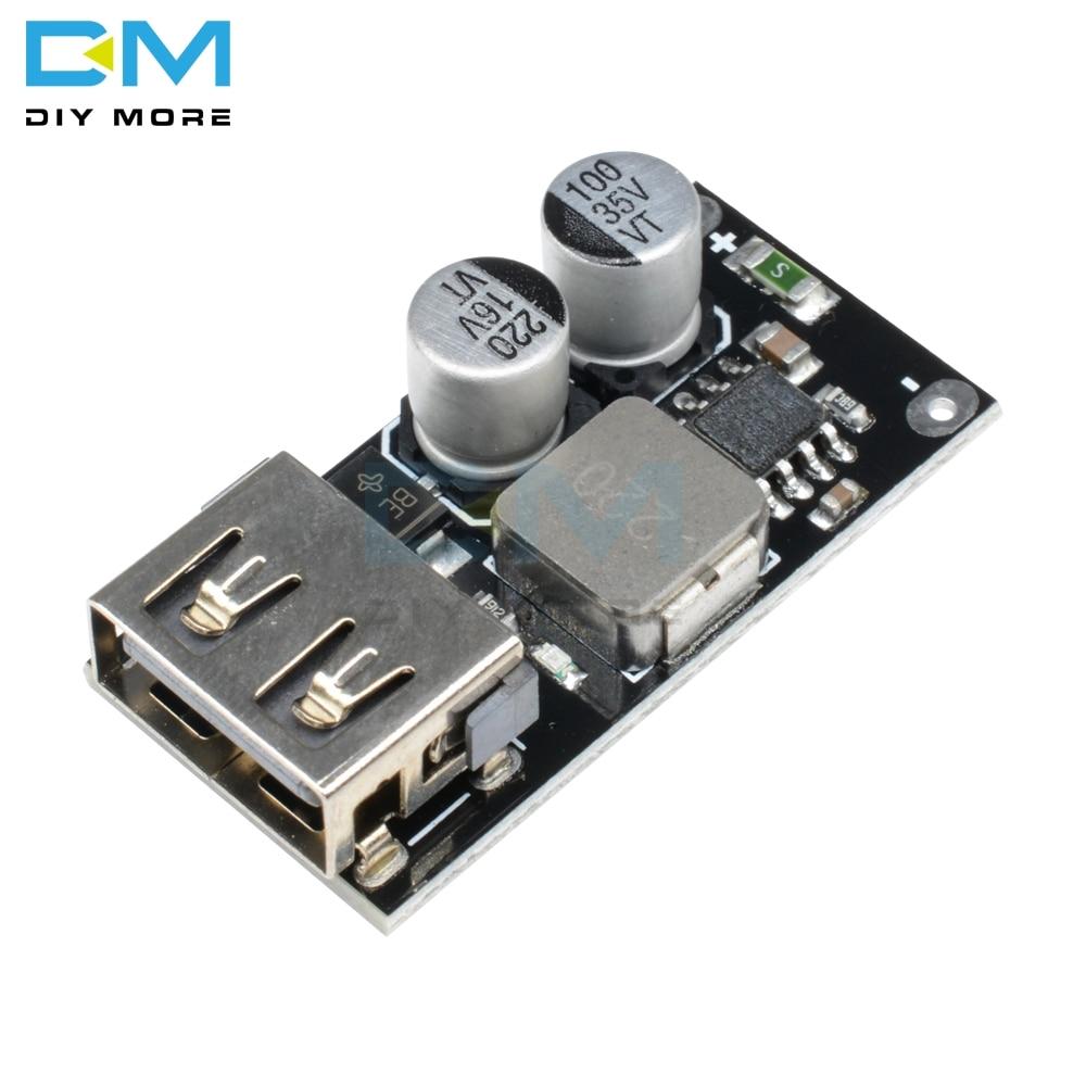 QC3.0 QC2.0 USB DC-DC Buck Converter Charging Step Down Module 6-32V 9V 12V 24V to Fast Quick Charger 3V 5V 12V Circuit Board