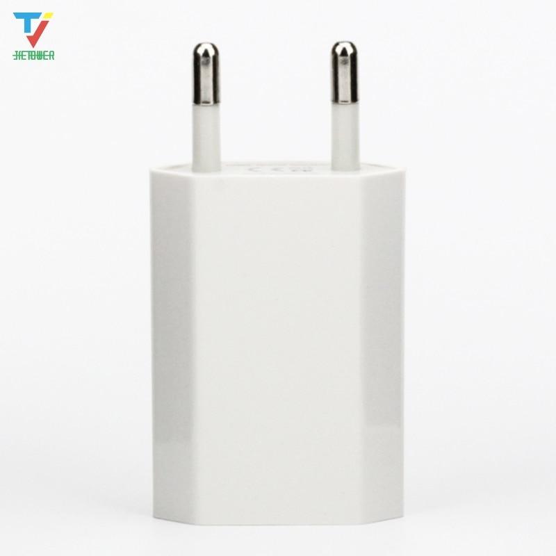 300 unids/lote Adaptador de corriente Micro USB blanco cargador de pared versión...