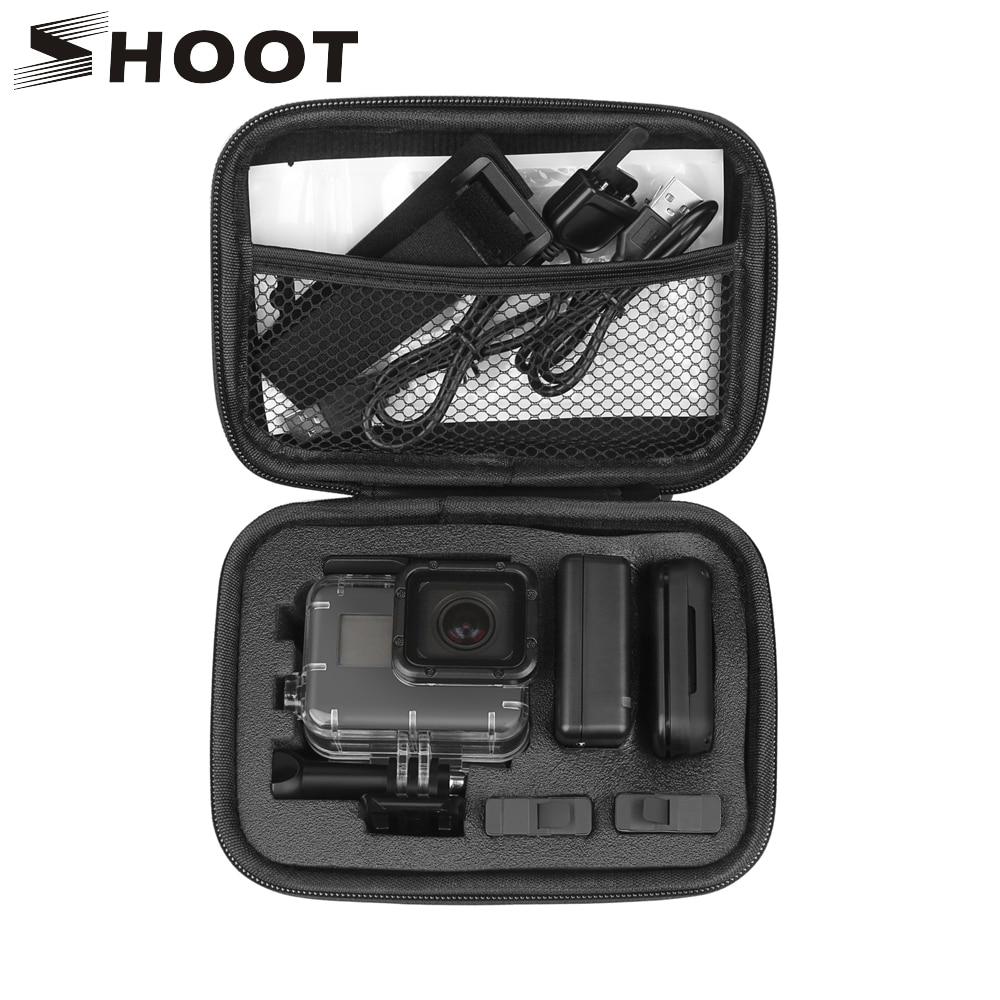 Disparar portátil EVA pequeña cámara de acción caso para GoPro héroe 9...