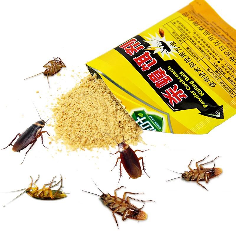 5pcs Efficient cockroach killer Anti Pest Cockroach repeller Powder Control Products for home garden
