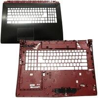 GZEELE new For MSI GE72 2QD APACHE PRO MS-1792 MS-1791 Upper Case Palmrest Cover 307791C411Y31 E2P-7910412-Y31 keyboard bezel