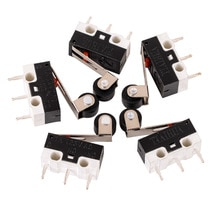 Micro interrupteur à levier SPDT Miniature   Mini, interrupteur de limite, bras de levier, SPDT Miniature 1A 125V AC 5 pièces