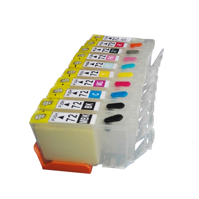 Vilaxh PGI-72 PGI72 Nachfüllbare Tinten Patrone Für Canon PGI 72 PIXMA PRO-10 PRO10 Drucker Mit einem zeit chip