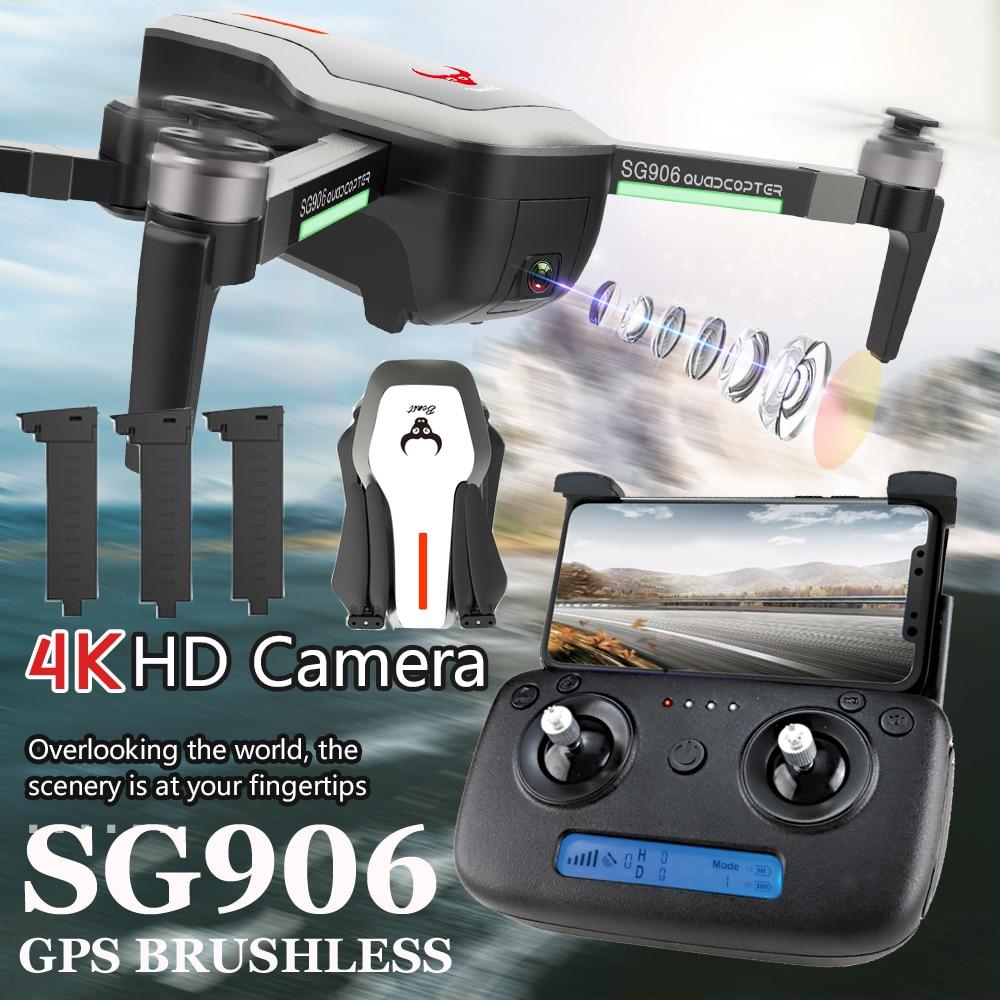 ZLRC bestia SG906 5G GPS Drone Cámara 4K Ultra HD 1080P WIFI FPV Selfie plegable de 1080P RC Quadcopter RTF VS XS812 XS809HW SG106