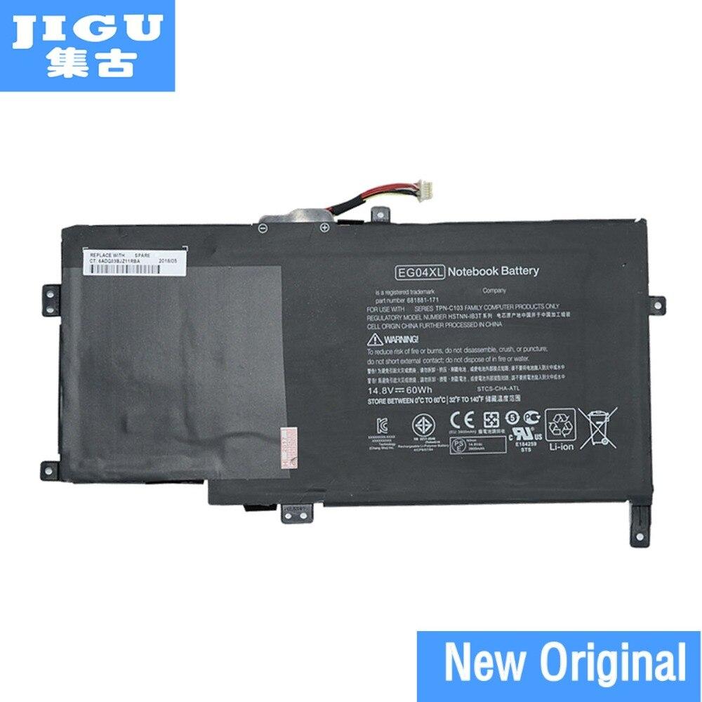 JIGU أصلي بطارية كمبيوتر محمول 681881-171 681881-271 681951-001 EG04 EG04XL EGO4XL HSTNN-DB3T HSTNN-IB3T ل HP