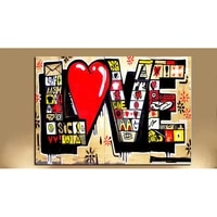 red love modern abstract full square drills 5d diy diamond painting cross stitch canvas painting art wall pictures home decro