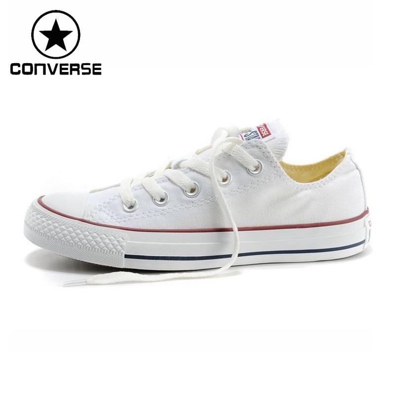 Zapatillas de Skateboarding de lona clásicas Unisex Converse recién llegadas