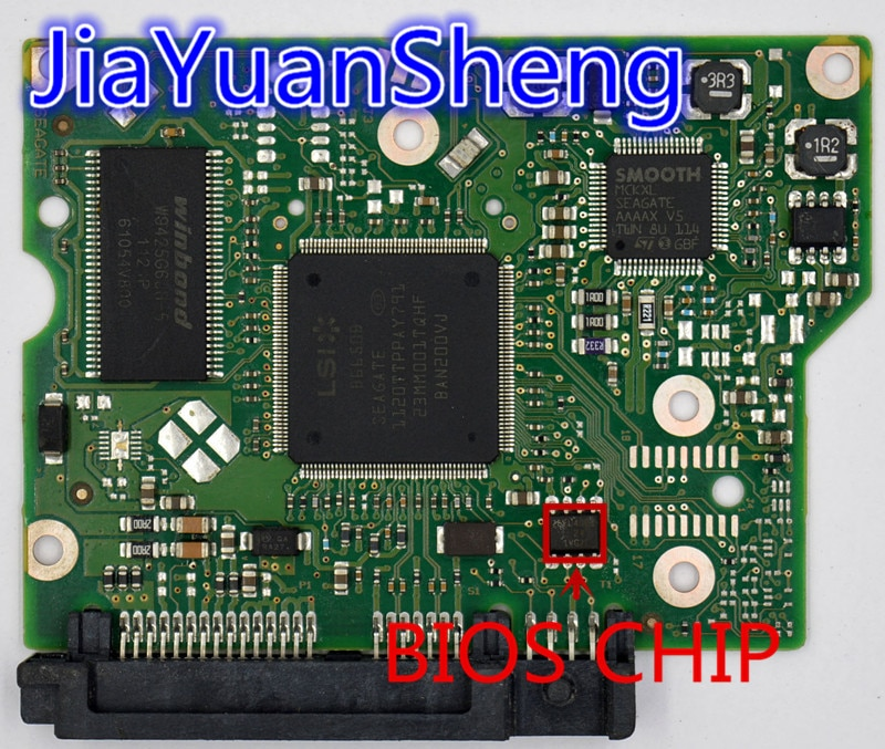 Jia Yuan Sheng Seagate Logic Board/ 100617465 REV B /2008, 2006 ,0114/ ST3000DM001 ,ST2000DL003 , ST2000DM001