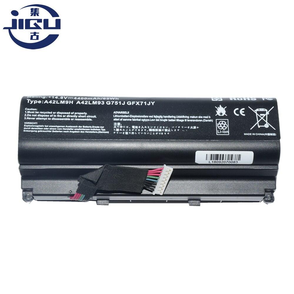 JIGU 8 A42N1403 A42LM9H A42LM93 CÉLULAS Bateria Do Portátil Para ASUS G751 G751J G751JM G751JT G751JY GFX71 GFX71JM GFX71JT