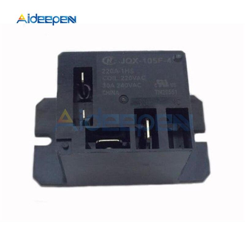 1 шт. JQX-105F-4-220V-1HS реле Кондиционер реле AC 220 В 30A HF105F 4 Pin для кондиционера