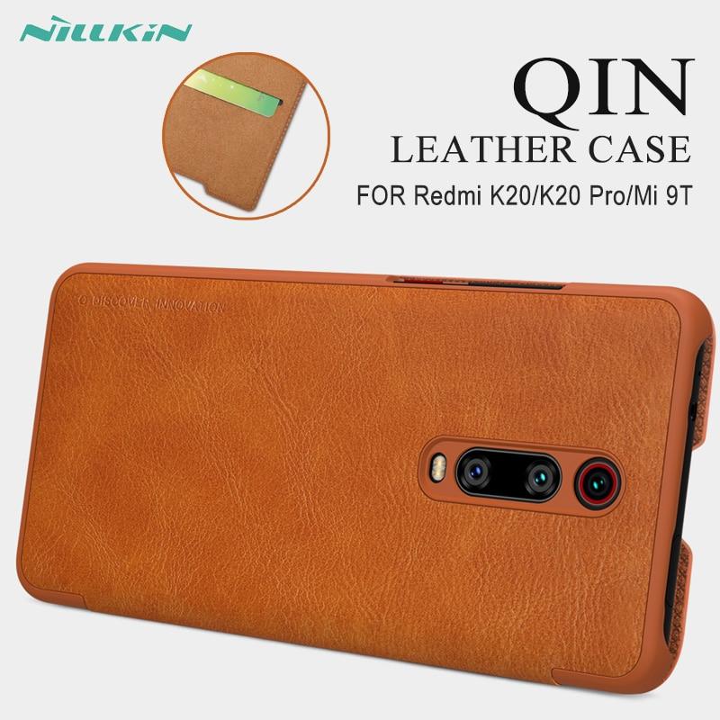 For Xiaomi Redmi K20 Pro Case Cover Flip NILLKIN Qin Leather Cover For Mi 9T 9T Pro Wallet Case