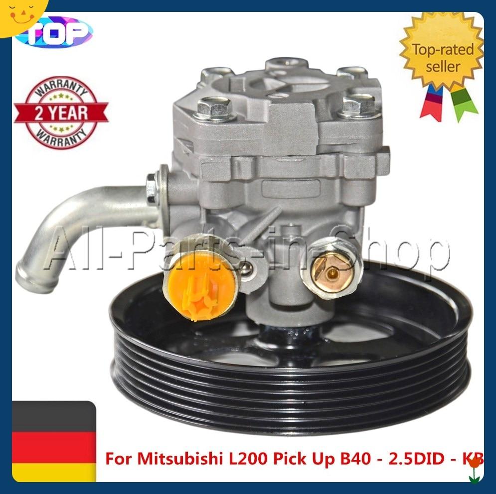 AP01 Brand New Power Steering Pump  For Mitsubishi L200 Pick Up Triton B40 KA4T KB4T KG4W KH4W 2.5 4450A173 MR992871