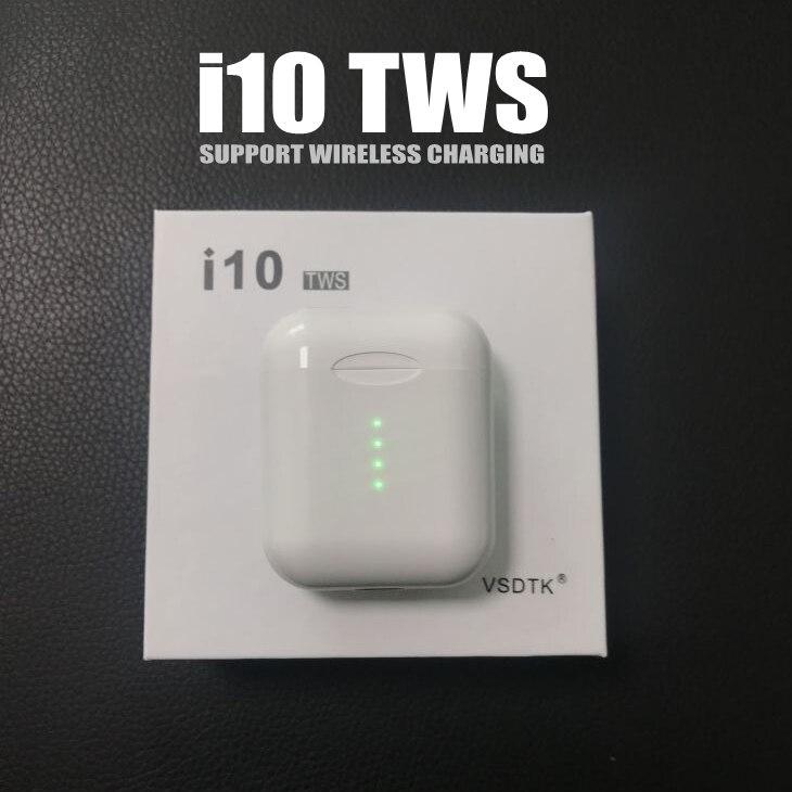VSDTK i10 tws i10s tws Bluetooth inalámbrico auricular Bluetooth 5,0 auriculares de control táctil para iphone xiaomi teléfonos inteligentes
