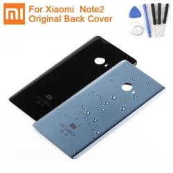 XIAOMI Vidro Traseiro Da Bateria Original Case Para Xiaomi MI Nota 2 Note2 Backshell Tampa Traseira Da Bateria Bateria Do Telefone Tampa Traseira casos