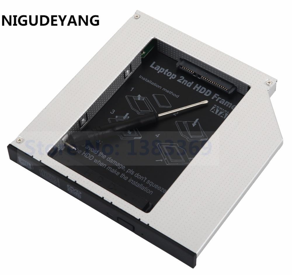 NIGUDEYANG 2-й жесткий диск для Toshiba Satellite, A305, A305D, A305D, адаптер для SSD-накопителя, адаптер для Toshiba Satellite, A200-1J0