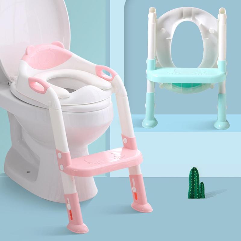Plegable orinal bebé infantil chico s asiento de entrenamiento para el baño con caja ajustable escala altura portátil urinario orinal inodoro asiento para chico