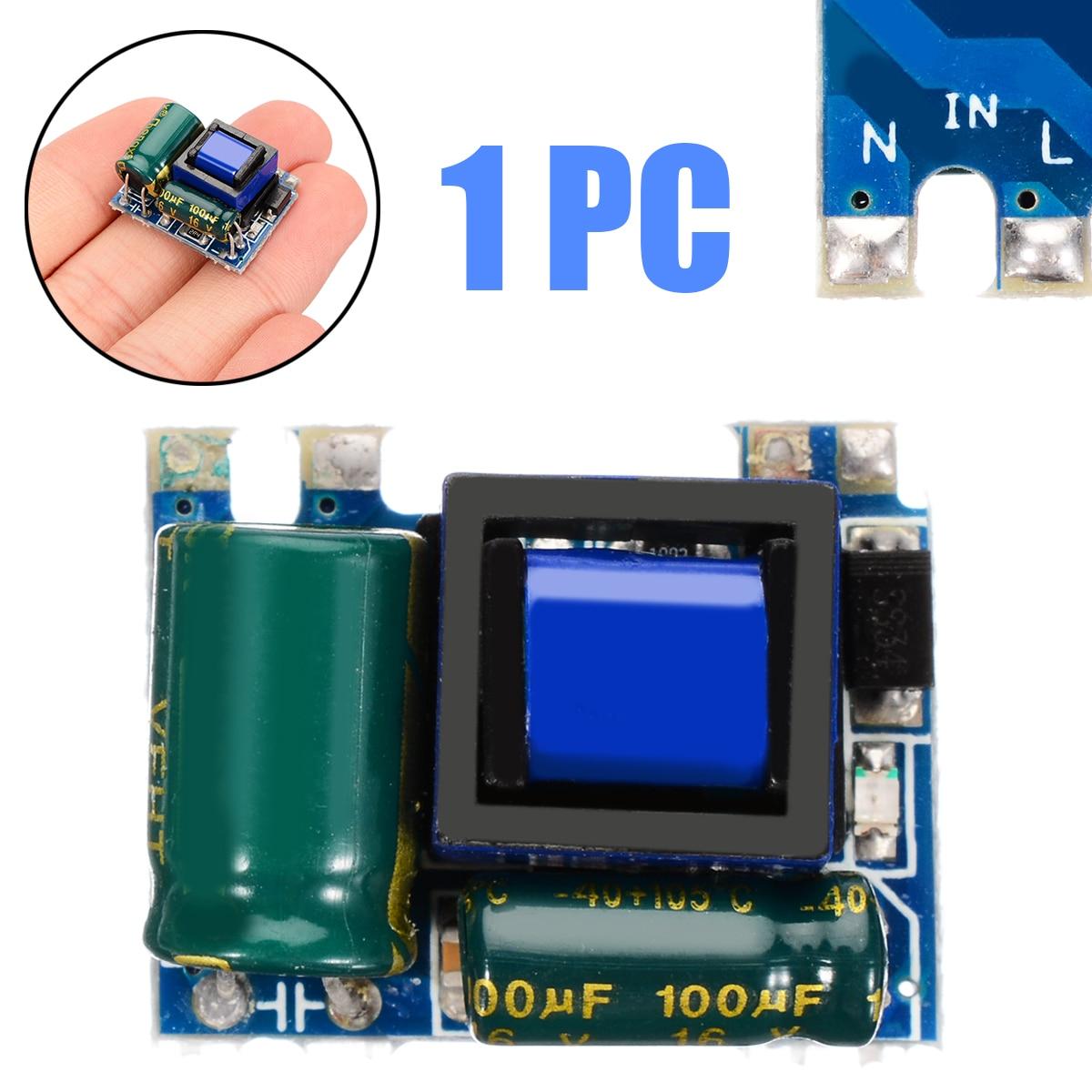Nuevo 23,5x16x13,5mm AC-DC convertidor 110 V 220 V 230 V a 5 V aislado de conmutación fuente de alimentación AC-DC módulo de potencia