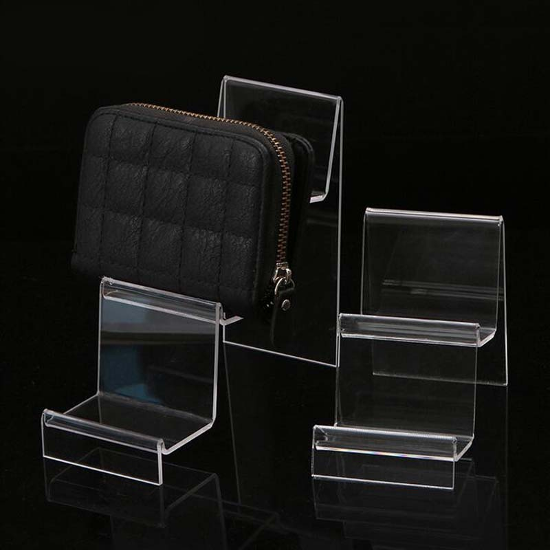 Новый прозрачный акриловый дисплей полка мобильный бумажник очки стойка многослойный сотовый телефон ювелирные изделия дисплей брелок стенд оптовая продажа