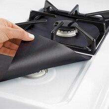 Protecteur de revêtement pour nettoyage de Surface   Feuille de cuisson réutilisable à gaz, plaque de cuisson, cuisinière protecteur de brûleur, outils de cuisine