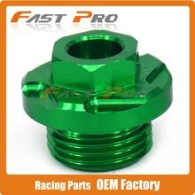 CNC kütük motor yağ doldurucu fiş KX250 05-08 KX250F 04-18 KX450F 06-18 KX450 19-20 KLX450R 08-15 KFX450R (ATV) 08-09