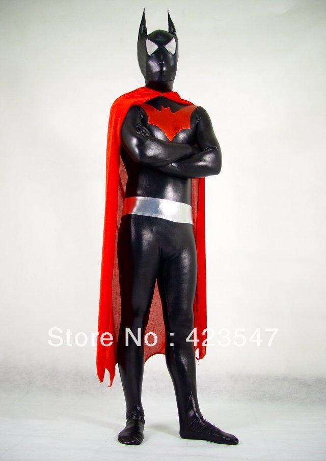 Black Metal Dark Knight Rises Batman DC Comics superhero Batman costumes
