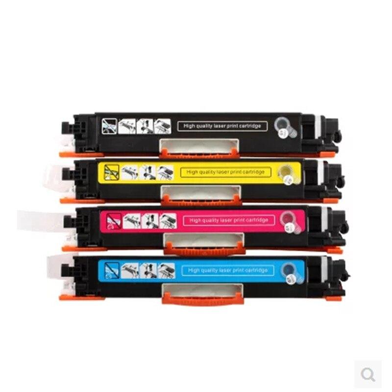 Cartucho de tóner de Color Compatible con CF350A CF351A CF352A CF353A 130A para impresora HP LaserJet M176n m177fw