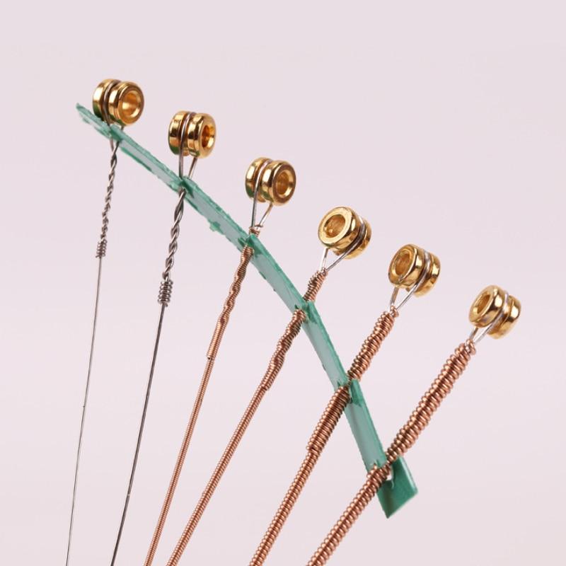Wholesale 12 sets/lot Alice AW436 Acoustic Guitar Strings 6-string Set Concert Strings Multi Tension for Option enlarge