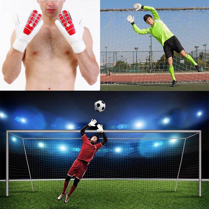 Guantes antideslizantes de látex de portero de fútbol para ayudarte a hacer lo más duro ahorra MCK99