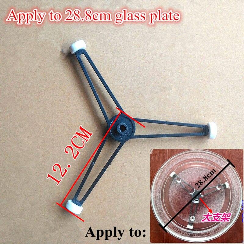 Piezas para horno microondas, bandeja con forma triangular de plástico, soporte para horno microondas Samsung