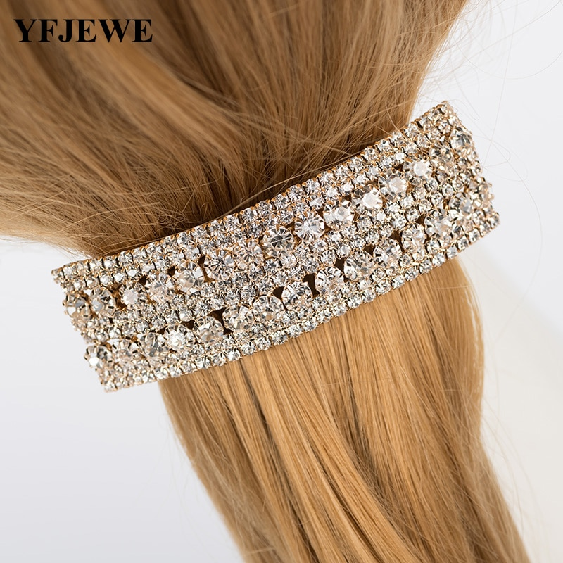 YFJEWE 卸売ヴィンテージトップ品質のファッションのヘアジュエリー新デザインファッション女性 H058 着用着用