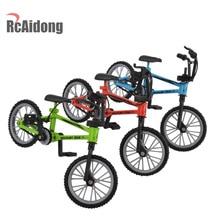 RC Crawler Decor Accessories Mini Mountain Bike Model Toys for 1/10 Traxxas Axial SCX10 Tamiya D90 D110 TF2 RC Crawler