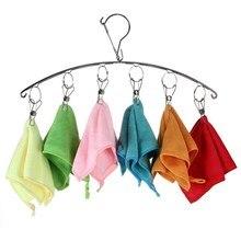 Cintre à clips en acier inoxydable   Cintre pour vêtements jupe pour vêtements pour enfants, poignée à pincer réglable permettant de gagner de lespace, organisateur de vêtements P1