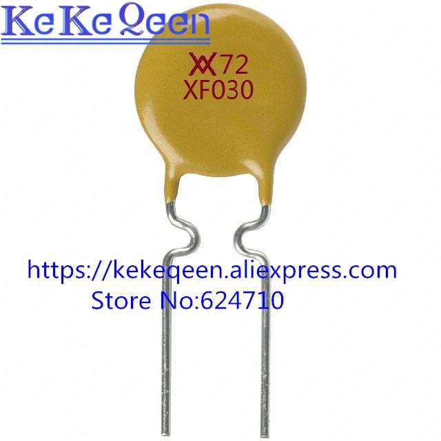10PCS/LOT Self Recovery Fuse RXEF030  XF030 72V 0.3A PPTC