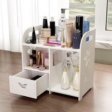 Desktop Cosmetics Storage Box Small Mini Dressing Table Simple Skin Care Storage Finishing Box Racks Home