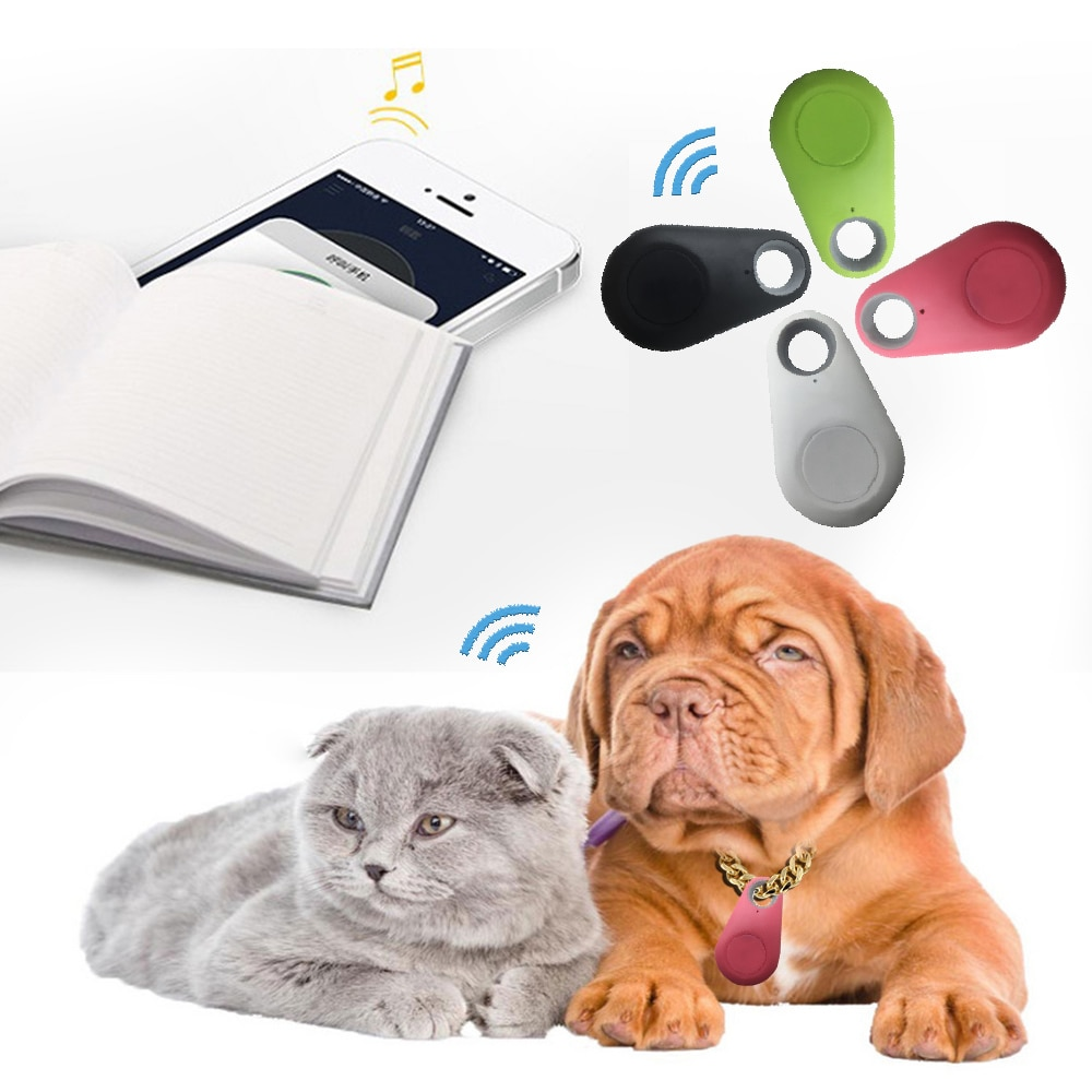 Mini Gps intelligent Anti-perte animaux   Bluetooth, étanche, pour animaux domestiques, clés de chat, sac portefeuille, traqueur intelligent pour enfants