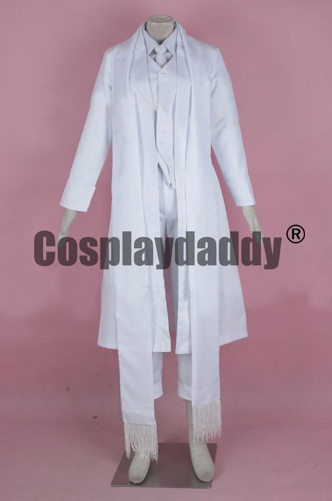 Organisation Hellsing Alucard formes alternées tenue uniforme Girlycard Costume Cosplay F006