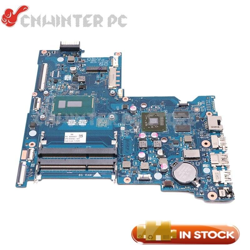 NOKOTION עבור HP 15-AY 15-BD 15-ac האם מחשב נייד 854940-601 854940-001 BDL50 LA-D703P SR244 I3-5005U מעבד