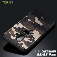 Per Samsung S9 Più caso della copertura MOFI per Samsung Galaxy S9 S9 + Camouflage Custodia In Pelle per S9Plus Copertura Completa caso Della Copertura posteriore
