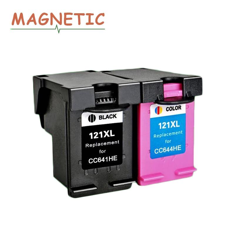 Магнитный совместимый чернильный картридж для hp 121 для hp 121 photosmart C4683 C4783 Deskjet D2563 D1663 5563 F2530 F2545 F2560 принтер