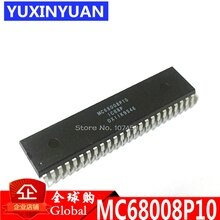 MC68008P10 MC68008P MC68008 DIP48 16-Bit Microprocessor Met 8-Bit Data Bus Nieuwe originele authentieke 1pcs