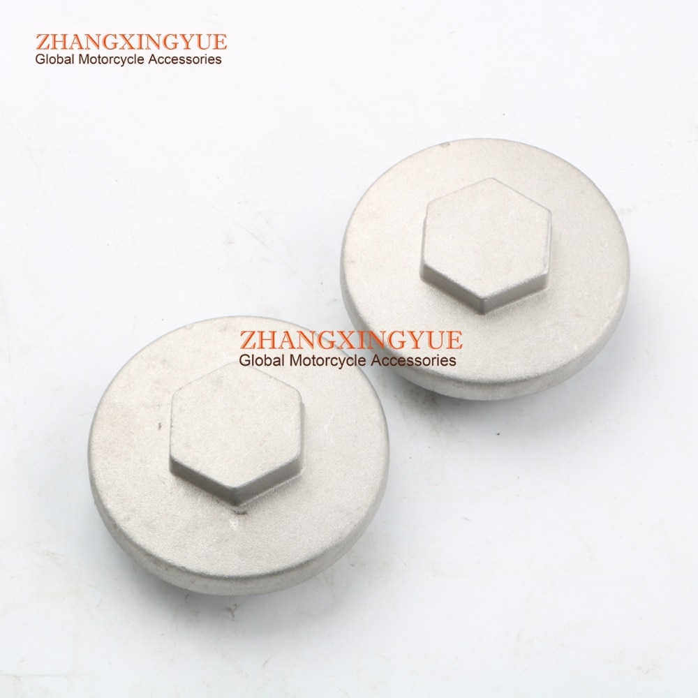 2PC Cylinder Head Cover for Yamaha YFM80 YFM100 YFA1 XV250 XV125 TTR90 TTR125 XC125 22F-11186-00