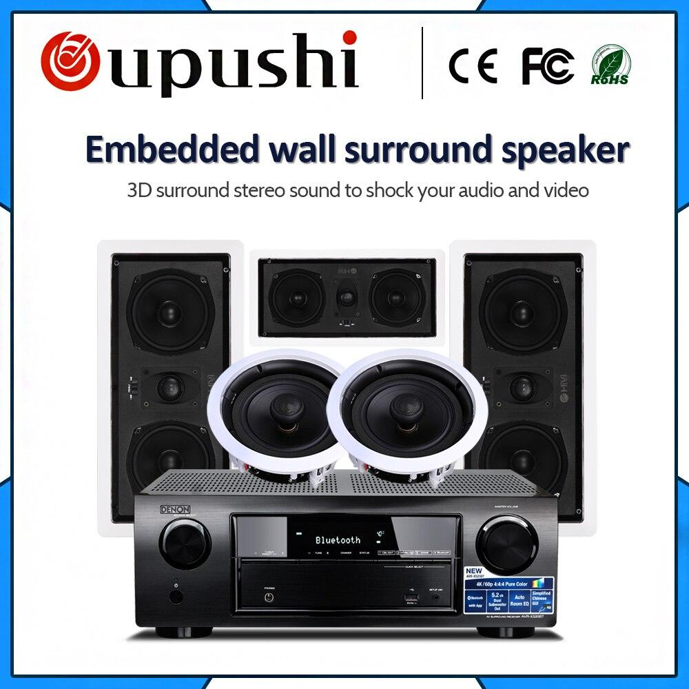 OUPUSHI 5,1 sistema de sonido estéreo altavoz para audio en casa Sistema de