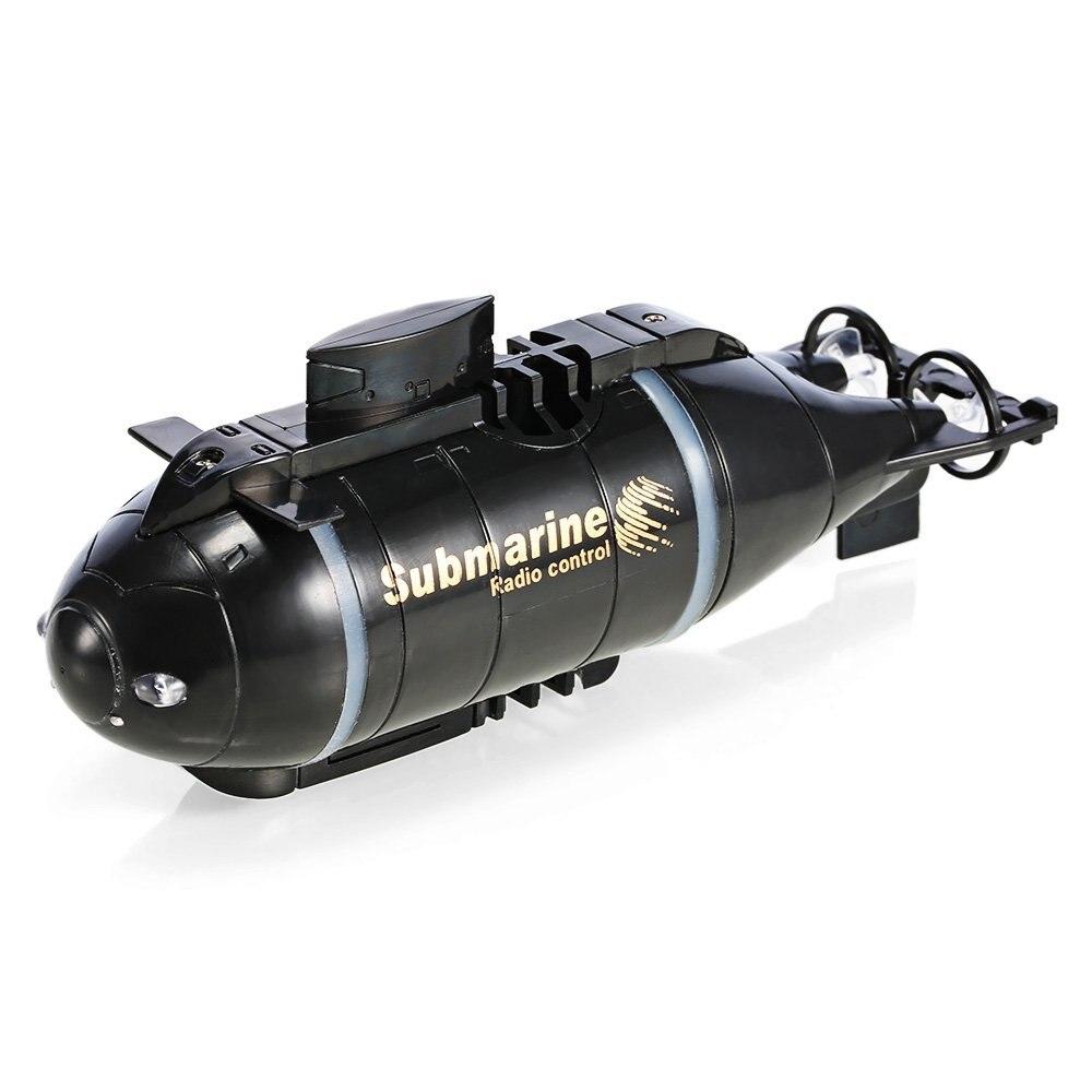 Updated Version Happycow 777-216 Mini RC Submarine Speed Boat Remote Control Drone Pigboat Simulatio